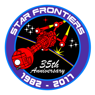 35th anniversary patch design