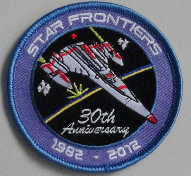 Star Frontiers 30th Anniversary Patch